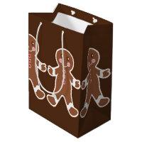 Chocolate Gingerbread Boys Gift Bag