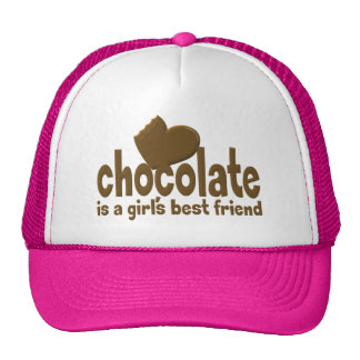Chocolate Girl's Best Friend Hat