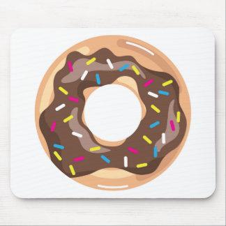 Chocolate Glazed Donut Mouse Pad