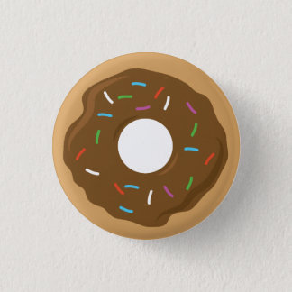 Chocolate Glazed Donut Pin