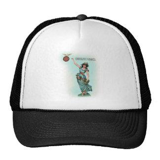 Chocolate Goddess Grecian Trucker Hat