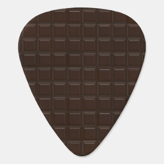 Chocolate Guitar Pick
