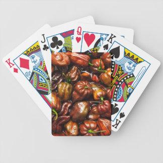 Chocolate Habanero Bicycle Playing Cards