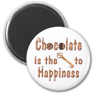 Chocolate Happiness Magnet