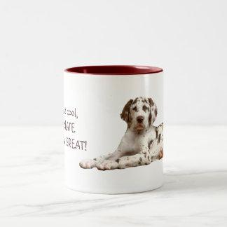 Chocolate Harlequin Two-Tone Coffee Mug