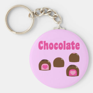 Chocolate Heart Bonbons Key Chains