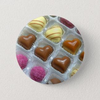 Chocolate Heart Box Button