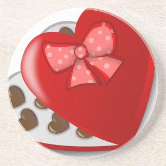 Chocolate Heart Box Coaster
