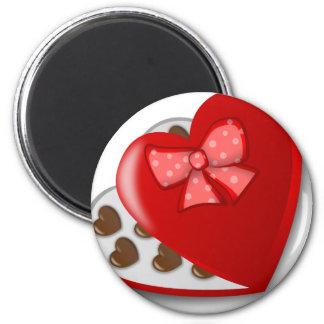 Chocolate Heart Box Magnet
