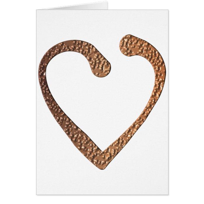 Chocolate Heart Card