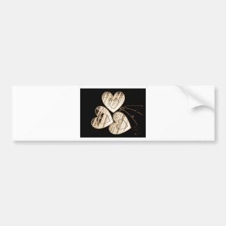 Chocolate Heart Gifts Bumper Sticker