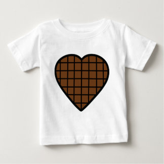 chocolate heart icon baby T-Shirt