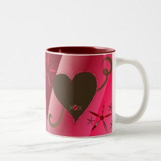 Chocolate Hearts Mug