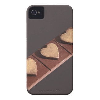 Chocolate Hearts Save the Date iPhone 4 Case