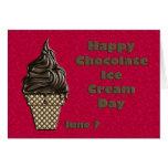 Chocolate helado día 7 de junio felicitación