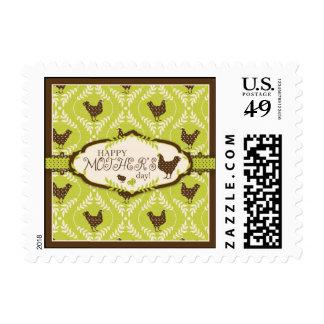 Chocolate Hens Stamp 2