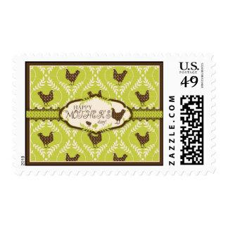 Chocolate Hens Stamp