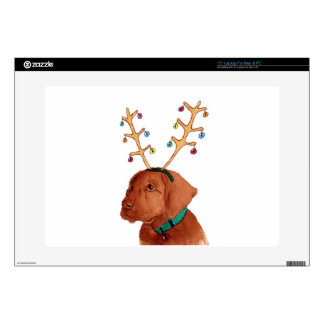 "Chocolate Holiday Lab 15"" Laptop Skins"