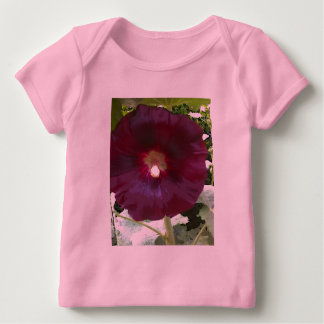 Chocolate Hollyhock Baby T-Shirt