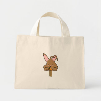 Chocolate Hopdrop Bitten Pop Mini Tote Bag