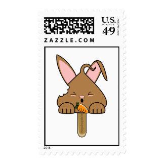 Chocolate Hopdrop Bitten Pop Postage Stamps