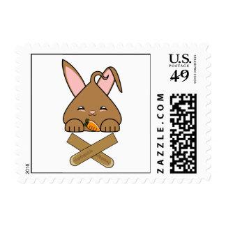 Chocolate Hopdrop Crossticks Postage Stamps