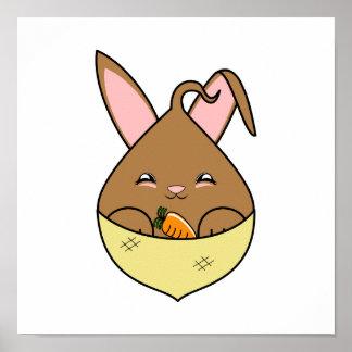 Chocolate Hopdrop Mini Cone Poster