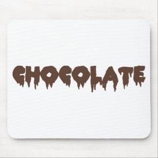Chocolate (Horror-estilo rocoso) Mousepad Tapetes De Raton