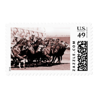 Chocolate Horse Race Stamps