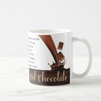 Chocolate, Hot Chocolate, Hot Chocolate Gift mug