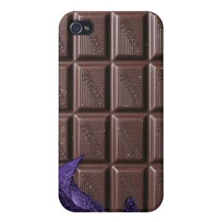 chocolate i - barra de caramelo de chocolate iPhone 4 funda