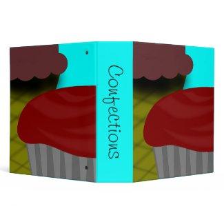 Chocolate Ice Cream-Cupcake Recipe binder