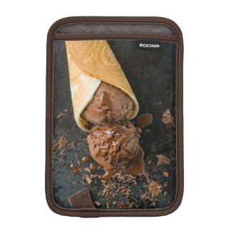 Chocolate ice cream iPad mini sleeve