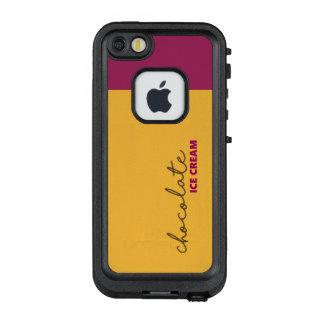 Chocolate Ice Cream LifeProof FRĒ iPhone SE/5/5s Case