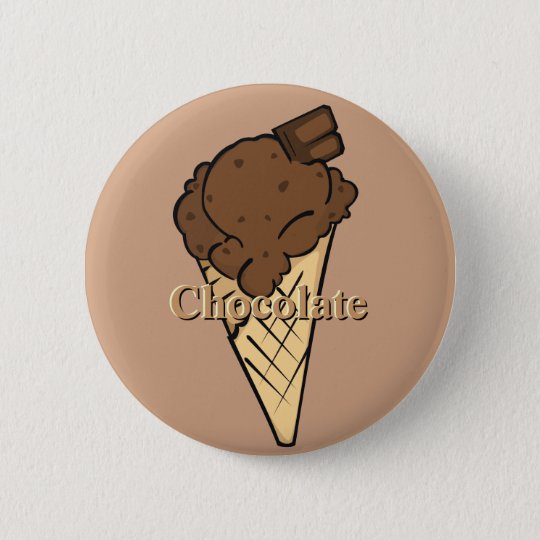 Chocolate Icecream Button