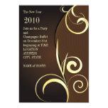 """chocolate invite 5"""" x 7"""" invitation card"""