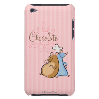 Chocolate iPod Case-Mate Protectores