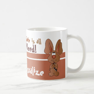 Chocolate Is all I Need for Easter Coffee Mug