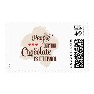Chocolate Is Eternal Postage