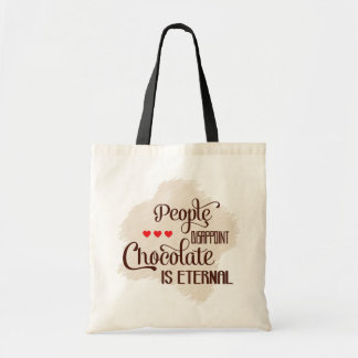 Chocolate Is Eternal Tote Bag
