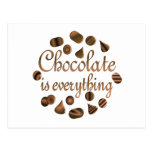 Chocolate is Everything Postcards