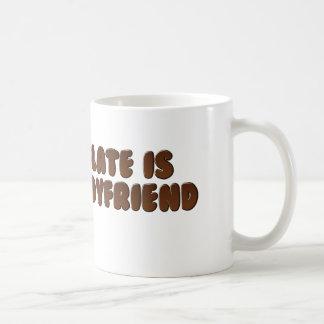 Chocolate is my BF Coffee Mug
