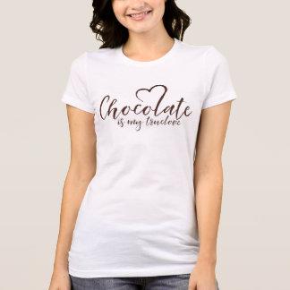 Chocolate is my Truelove T-Shirt