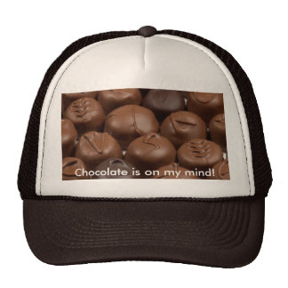 Chocolate is on my mind! Hat