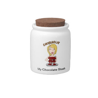 Chocolate jar for your chocolate stash candy jars