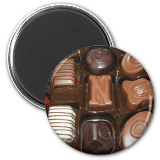 Chocolate Jewelry Magnet