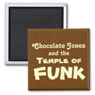 Chocolate Jones Imán Cuadrado