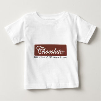 Chocolate - Kiss your A1C Good-bye Baby T-Shirt