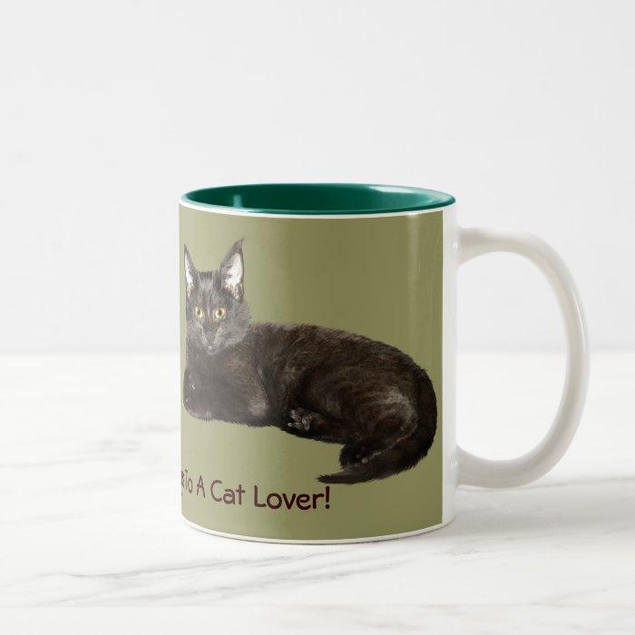 Chocolate Kitten Collection Two-Tone Coffee Mug