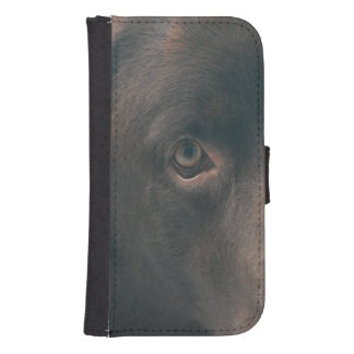 chocolate-lab-14 phone wallet case